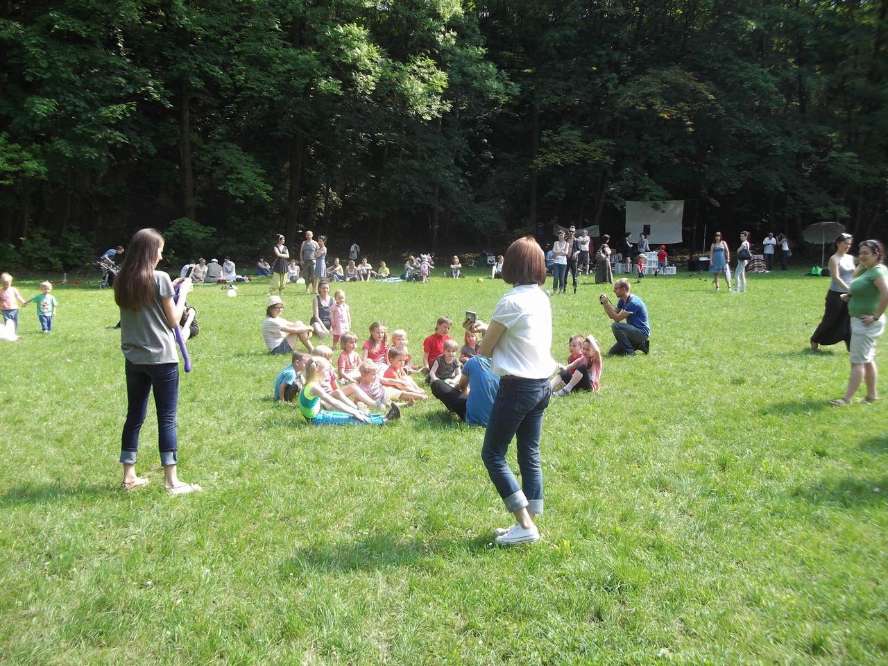ParkuJeMyEko - joga dla dzieci