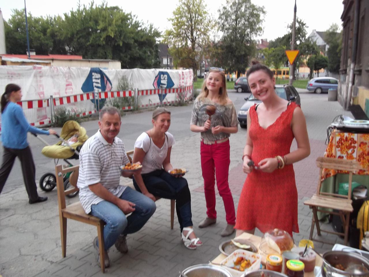 Pan Zielonka, Jamica Potluck, Kasia Family