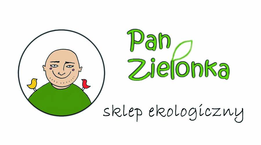 Pan Zielonka - wizytówka przód